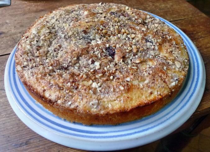 Buttermilchkuchen mit Kirschen-27.7.14   (7)