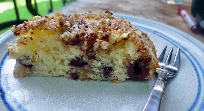 Buttermilchkuchen mit Kirschen-27.7.14   (8)