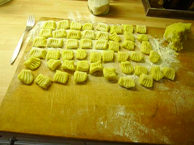 Gnocchi mit Tomatensoße-31.8.14   (11)