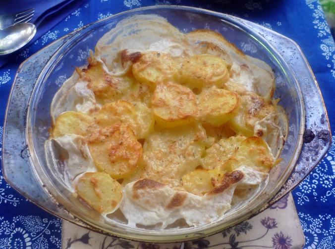 Porree-Kartoffelgratin-Ei-9.9.14   (1f)