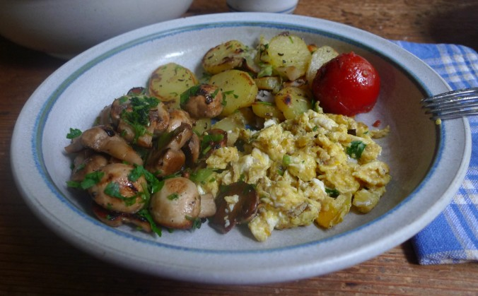 Bratkartoffel,Champignon,Rührei - 30.10.14   (13)