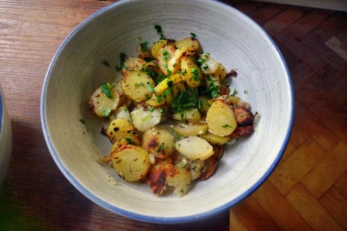 Bratkartoffel,Champignon,Rührei - 30.10.14   (7)