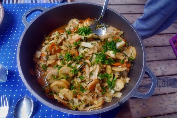Gemüsepfanne-Reis-Champignon - 13.10.14   (16)