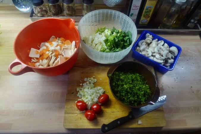 Gemüsepfanne-Reis-Champignon - 13.10.14   (4)