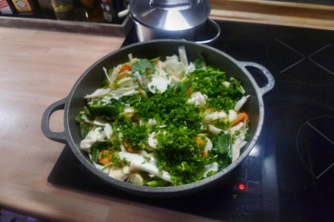 Gemüsepfanne-Reis-Champignon - 13.10.14   (7)