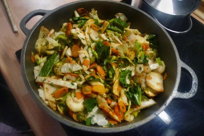Gemüsepfanne-Reis-Champignon - 13.10.14   (9)