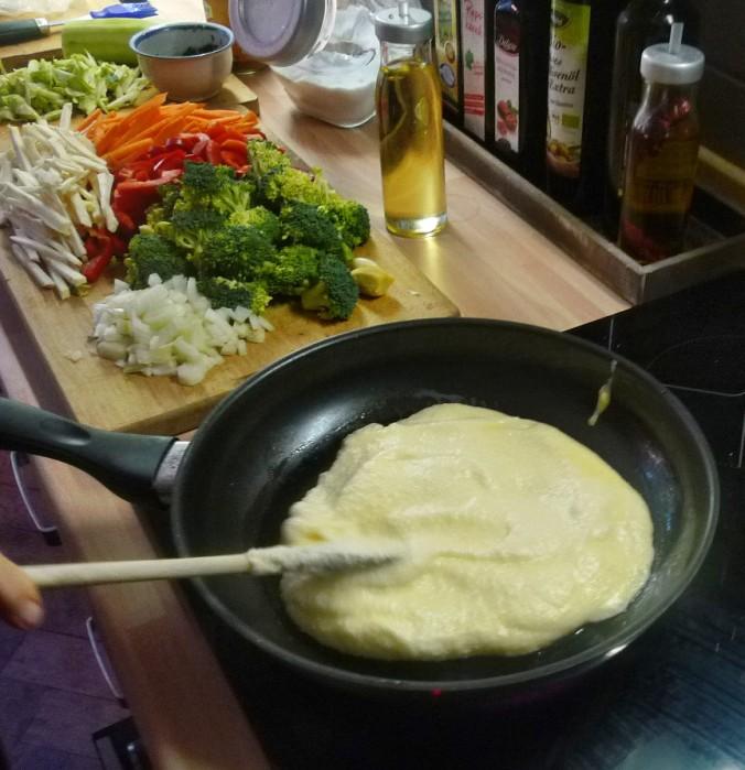 Wokgemüse mit Omlette - 23.11.14   (11)