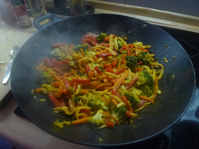 Wokgemüse mit Omlette - 23.11.14   (28)