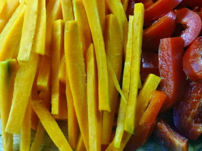 Wokgemüse mit Omlette - 23.11.14   (5)