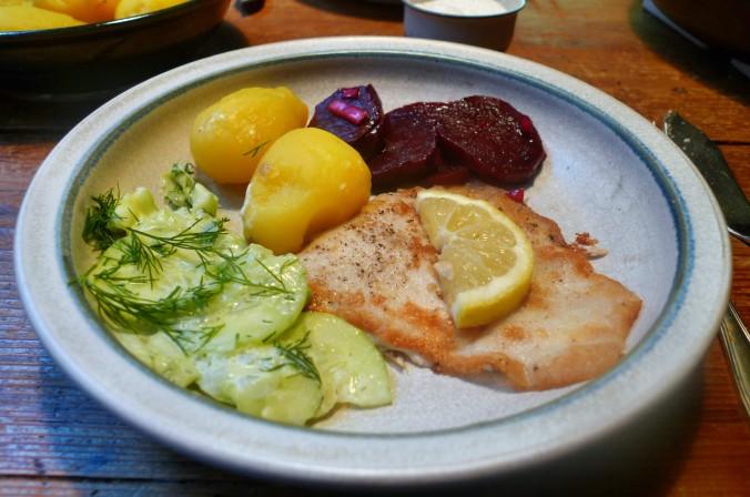 Schollenfilet,Salate,Kartoffeln-16.12.14   (11)