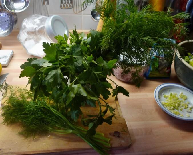 Quark,Kartoffeln,Salat - 28.1.15   (2)