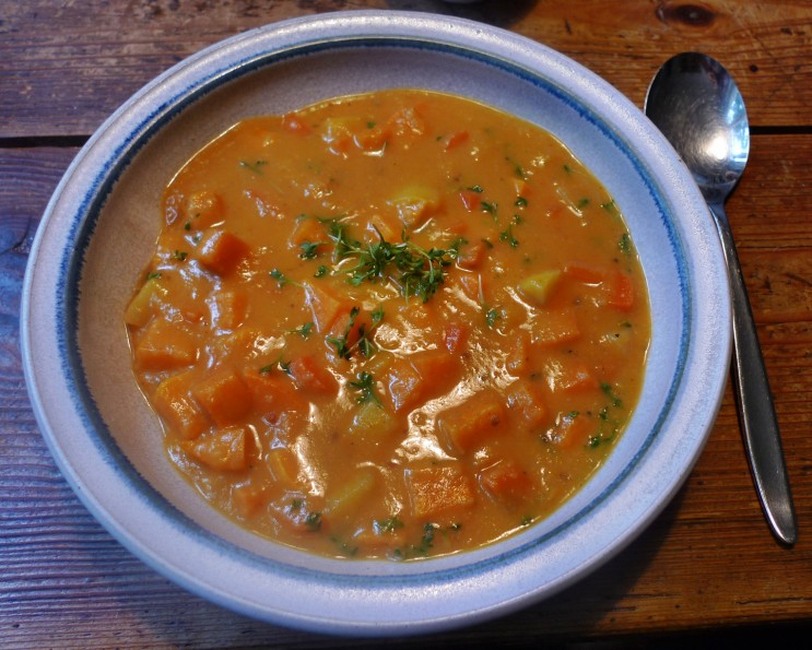 Süßkartoffel Curry mit Limette -29.1.15 (1)