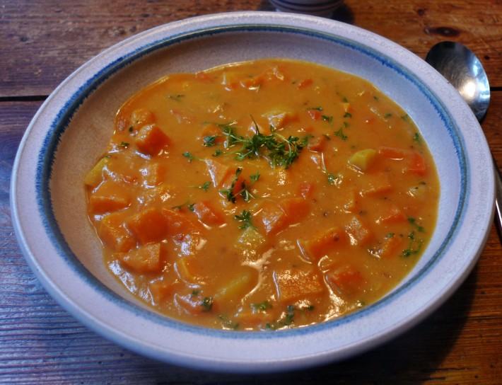 Süßkartoffel Curry mit Limette -29.1.15 (15)