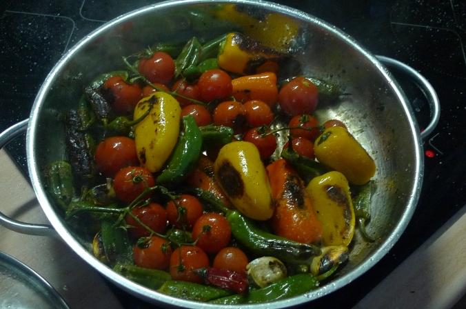 Pimientos(Bratpaprika)Tomaten,Linguini -7.1.15  (7)