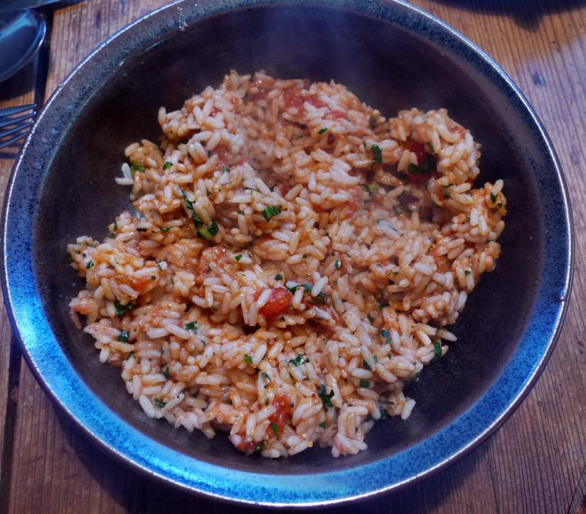 Rote betegemüse,gebratener Reis,Joghurtdip,Kohlrabisalat - 27.3.15   (10)