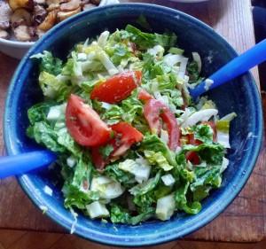 Topinambur,Salat,Joghurtdip - 16.3.15   (10)