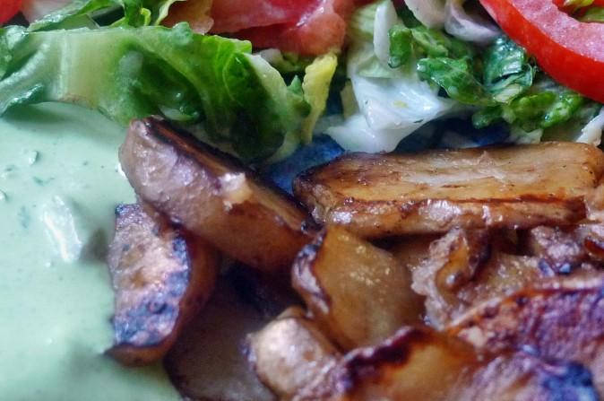 Topinambur,Salat,Joghurtdip - 16.3.15   (15)