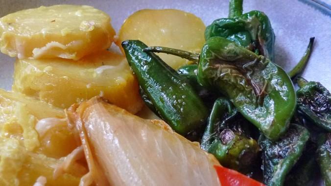 Chicoree,Salat mit Vorelmiere,Kartoffelgratin -9.4.15   (16)