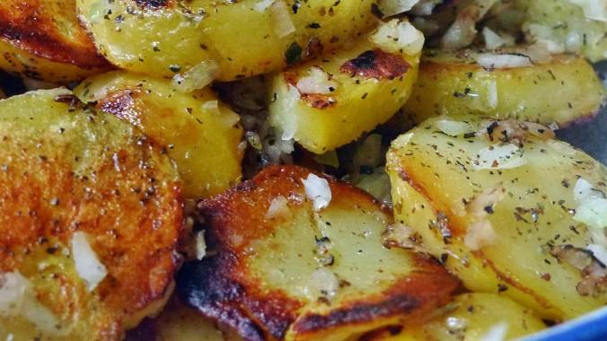 Shitakepilze, Bratkartoffel,Salat -28.4 (6)