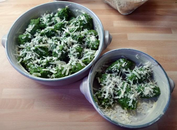 Spinat,Ricotta,Gnocchis,überbacken - 1.4.15   (15)