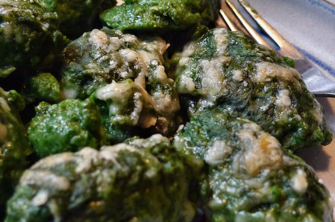 Spinat,Ricotta,Gnocchis,überbacken - 1.4.15   (21)