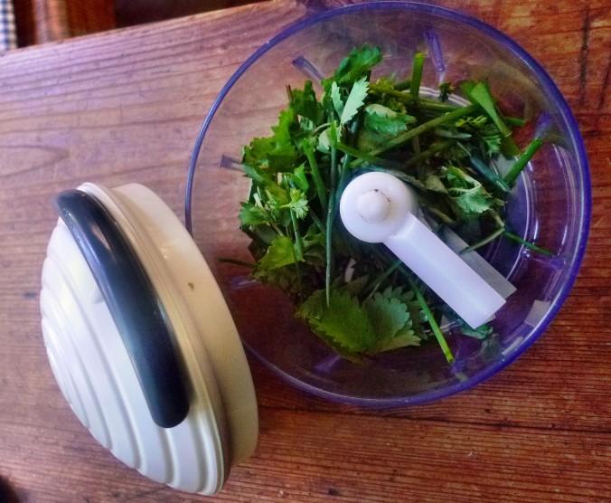 Bratkartoffel,Salat,Spiegelei,Dip,Zucchini - 13.5.15   (9)