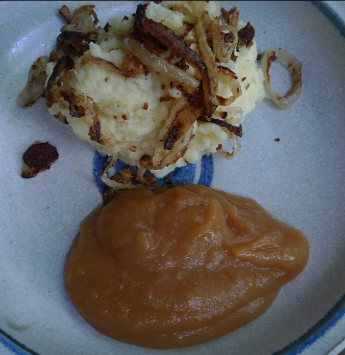 Kartoffelbrei,Apfelmus - 21.5.15   (10)