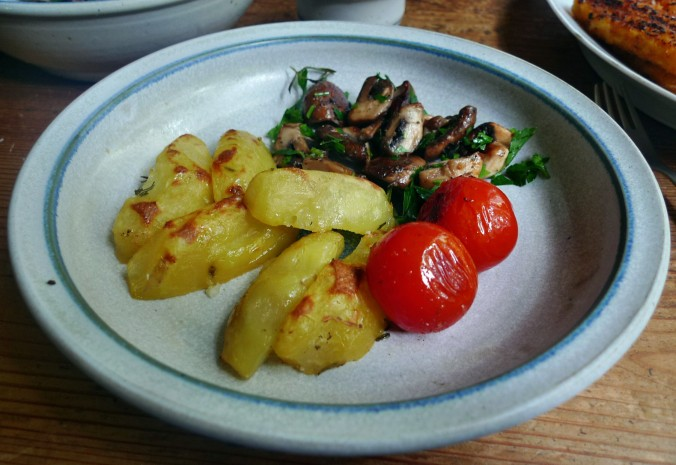 Rosmarinkartoffel,Pilze - 28.5.15   (12)