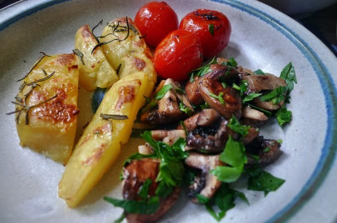 Rosmarinkartoffel,Pilze - 28.5.15   (9)