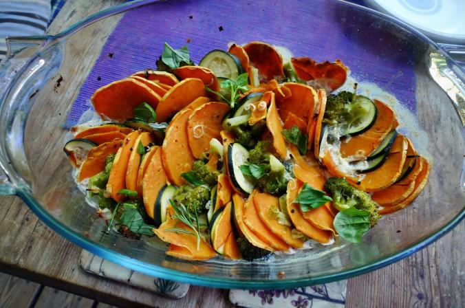 Süßkartoffel Gratin-Fetacreme -18.5.15   (10)