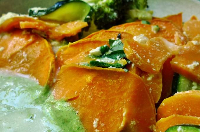 Süßkartoffel Gratin-Fetacreme -18.5.15   (13)
