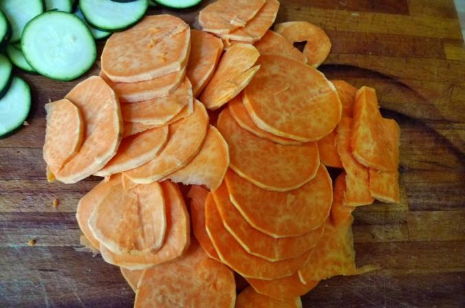 Süßkartoffel Gratin-Fetacreme -18.5.15   (6)
