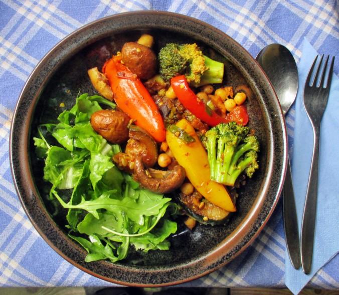 Asiatische Gemüsepfanne - 28.7.15   (1)