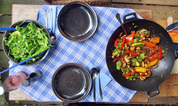 Asiatische Gemüsepfanne - 28.7.15   (10)