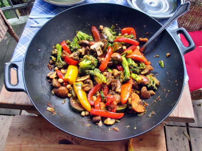 Asiatische Gemüsepfanne - 28.7.15   (11)