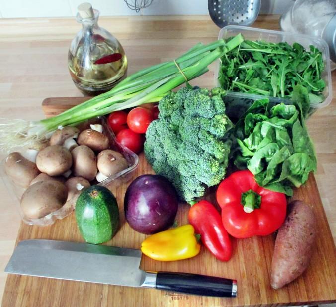 Asiatische Gemüsepfanne - 28.7.15   (2)