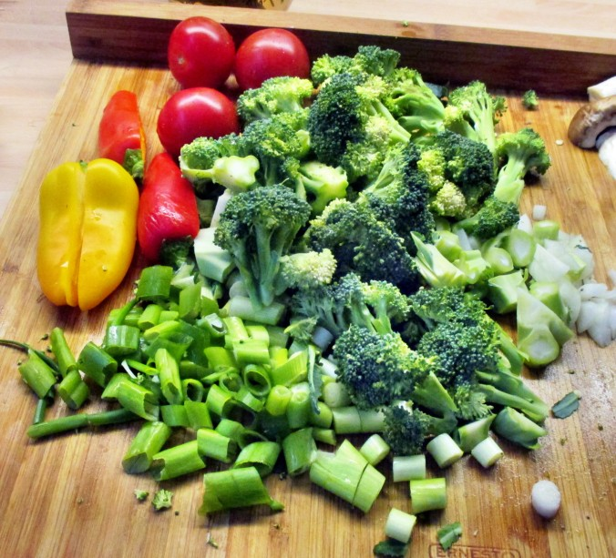 Asiatische Gemüsepfanne - 28.7.15   (7)