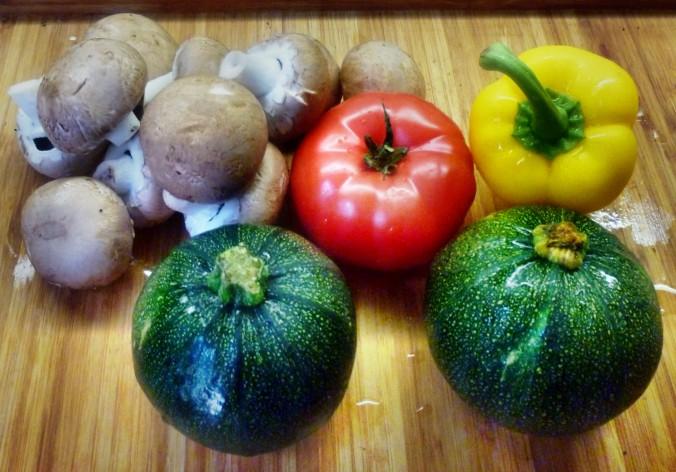 Gefüllte Zucchini - 19.7.15   (1a)