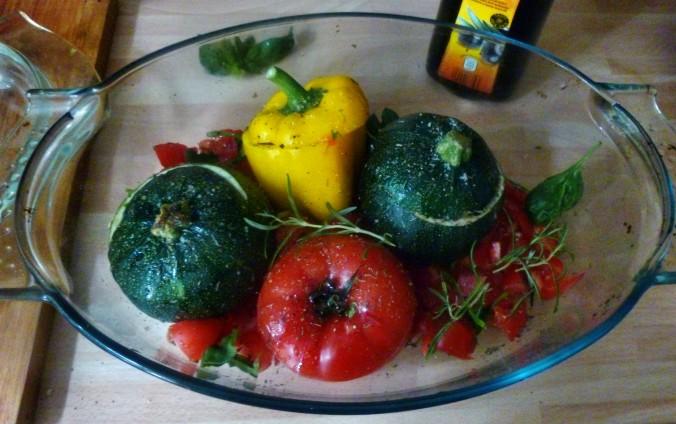Gefüllte Zucchini - 19.7.15   (6)