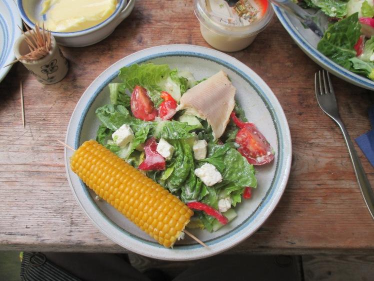Gemischter Salat-Mais-Forelle -6.7.15   (5)