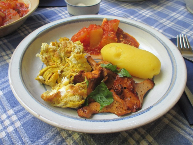 Pfifferlinge,Kartoffeln,Salat -2.7.15   (7)