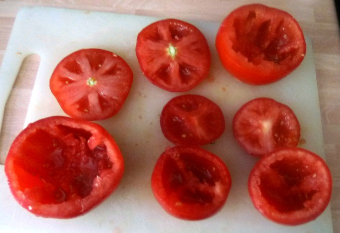 Gefüllte Tomaten - 12.8.15   (1a)