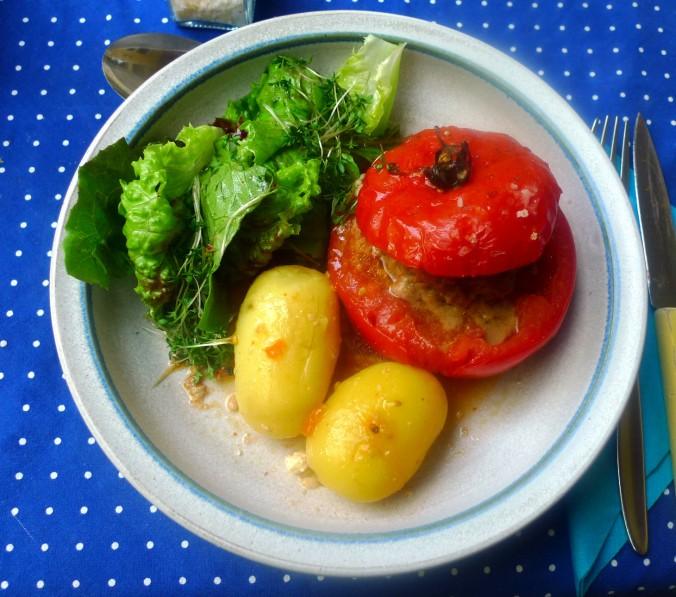 Gefüllte Tomaten - 12.8.15   (9)