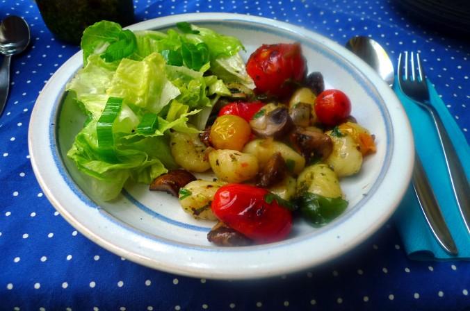 Gnocchi,Tomaten,Pilze - 12.8.15  (12)