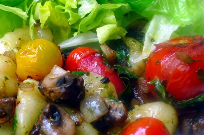 Gnocchi,Tomaten,Pilze - 12.8.15  (14)