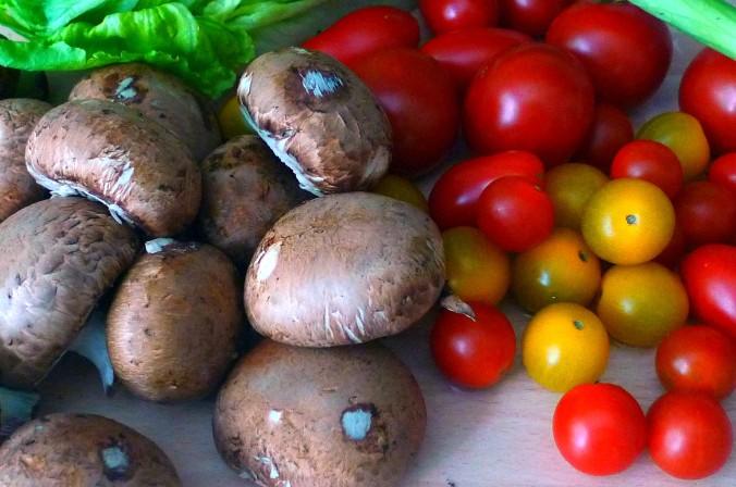 Gnocchi,Tomaten,Pilze - 12.8.15  (3)