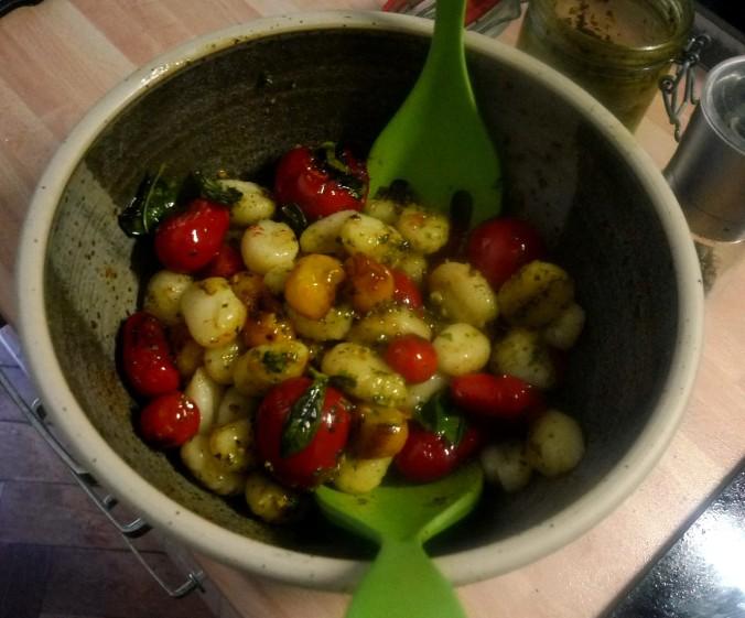 Gnocchi,Tomaten,Pilze - 12.8.15  (9)