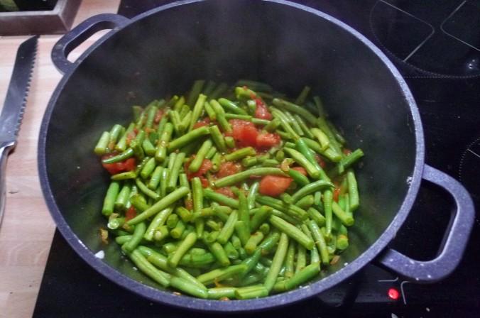 Grüne Bohnen - 11.8.15   (3)