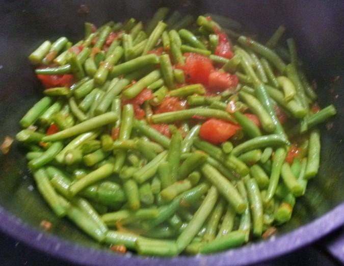 Grüne Bohnen - 11.8.15   (4)