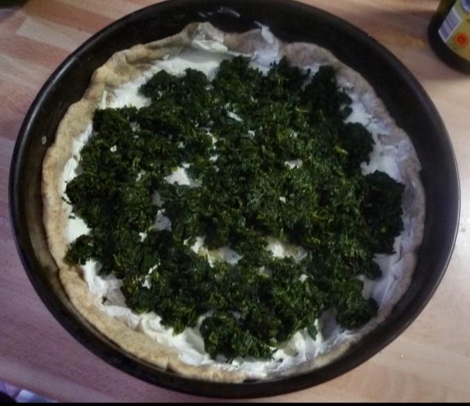 Kürbis,Spinat Tarte - 7.8.15   (3)